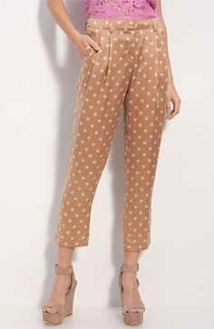 Printed pants for Spring 2012