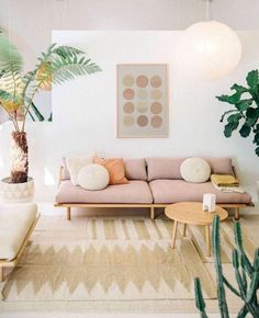 Boho Living Room, Interior Design Living Room, Small Living Room Decor, Living Room Scandinavian, Tropical Living Room, Home Decor Trends, Living Decor, Trending Decor, Apartment Decor