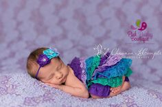 Newborn Photo Shoot, Newborn Coming Home Outfit, Baby Rompers, Baby Photo Outfit, Petti Rompers, Hospital Photo's, Birthday Outfit by Pink Paisley Bowtique.$29.99