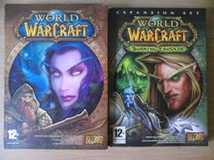 World of Warcraft & World of Warcraft The Burning Crusade Expansion Set PC Game