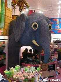 Atlantic city nj Lucy the elephant made of jelly beans