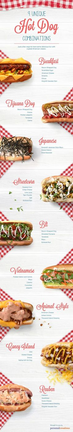 9 Best Hot Dog Recipes for Labor Day [INFOGRAPHIC] - Wide Open Spaces