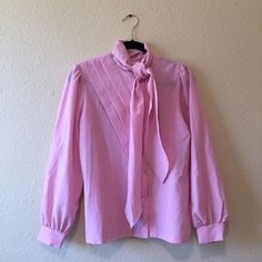Pretty pink button-up Ask and I will bundle. Discounts on bundles. Tops Button Down Shirts