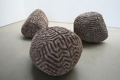 Peter Randall-Page, Walking the Dog, Dulwich Picture Gallery Peter Randall Page, Grasshopper Rhino, Dulwich Picture Gallery, Maori Art, Gcse Art, Color Shapes, Dog Walking, Art Photography, Sculptures