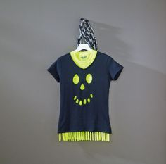 Fringed Skull T-Shirt