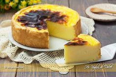 Flan parisien o flan pâtissier un dolce francese semplice e cremoso composto da pasta brisée ripiena di morbida crema alla vaniglia. Ricetta facile e veloce