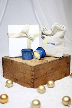 Máslenka DENIM BLUE od Máslenka.cz ve vánočním balíčku Blue Denim, Place Cards, Place Card Holders