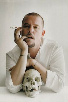 Mr.Alexander McQueen.Born on March 17, 1969, in Lewisham, London. He became head designer of the Louis Vuitton-owned Givenchy fashion line and, in 2004, launched his own menswear line. He earned the British Fashion Council's British Designer of the Year award four times, and was named Commander of the Order of the British Empire. McQueen committed suicide in 2010, shortly after the death of his mother.