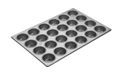 Focus Foodservice Commercial Bakeware 24 Count 2-3/4-Inch Cupcake Pan, 14 by 20.69-Inch >>> New offers awaiting you  : Baking pans