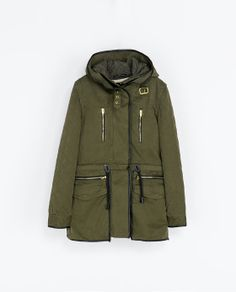 ZARA - NEW THIS WEEK - PARKA WITH DETACHABLE