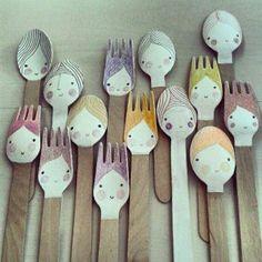 plastic-spoon-face