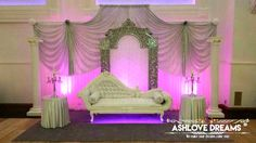 Wedding Stage, Valance Curtains, Bed, Birthday, Furniture, Dreams, Home Decor, Birthdays, Decoration Home