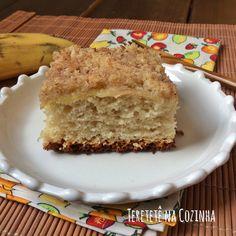 Receita de Cuca de Banana