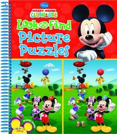 Look and Find Picture Puzzles (Mickey Mouse Clubhouse) by Editors of Publications International Ltd.. $9.98. Publisher: Publications International; Spi edition (February 1, 2010). Publication: February 1, 2010
