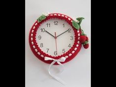 reloj a chochet (ZURDO) - YouTube