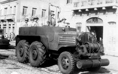 Very rare Minneapolis-Moline GTX 6 x 6 Artillery Tractor, nine of which saw service with the Brazilian Land Forces.