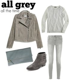 Monochrome Dressing; Shades of Grey