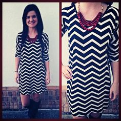 Love this short sleeve dress that can also double as a tunic. Wear now with high boots or booties, wear later with leggings. Super soft knit, very durable and fits superbly! S-M-L $78