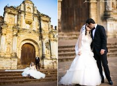 Guatemala Wedding... I love the ceremony and reception sites!  And coffee as favors!