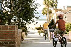 Beach Cruising In Hermosa Beach CA