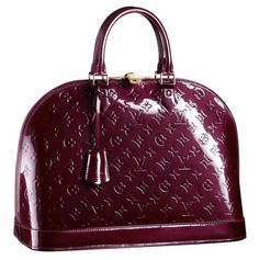 Louis Vuitton Rouge Fauviste Alma MM