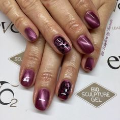 #Yulia the lovely #magnetic #colour #evobybiosculpture #paphosnails #biosculpturebytheresa