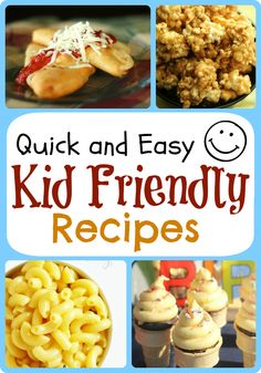 Quick and Easy Kid Friendly Recipes - that the whole family will enjoy!  From favfamilyrecipes.com