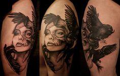 Tattoo by Jacob Pedersen