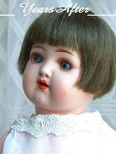 HEUBACH KOPPELSDORF German Bisque Art Deco Doll Original Wig, Open Mouth, Teeth, Sleep Eyes, Breather HALLMARKED c.1920!