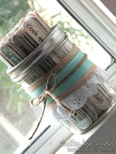 Have bridal shower guests write down date night ideas. This could be a good idea especially because its going to be a couples shower!