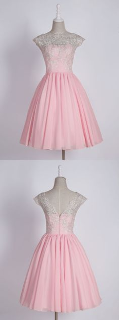 pink homecoming dresses,short homecoming dresses,lace homecoming dresses,cute homecoming dresses