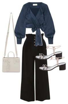 Untitled #23578 by florencia95 on Polyvore featuring polyvore, fashion, style, Zimmermann, Topshop, LOQ, Yves Saint Laurent and clothing