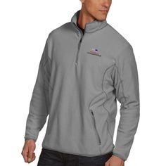 New England Patriots Antigua Super Bowl LI Champions Ice Quarter-Zip Pullover Jacket - Silver/Gray