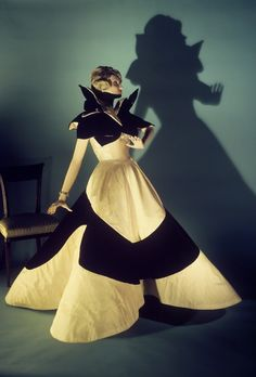 Charles James, 1950s. I won't actually be making anything like this but it is inspiring...