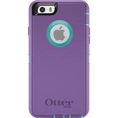 OtterBox Defender iPhone 6 Plus Case Purple/Blue