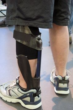 The IDEO brace helps transfer energy so the wearer can step forward. Repinned by  SOS Inc. Resources  http://pinterest.com/sostherapy.