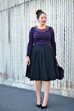 Style, Beauty and Inspiration curated by Tanesha Awasthi, for the unapologetically confident GIRL WITH CURVES. Mode Outfits, Fashion Outfits, Plus Size Looks, Moda Vintage, Mode Chic, Girl With Curves, Curvy Girl Fashion, Plus Size Fashion For Women, Plus Size Outfits