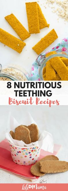 If your child is picky, has specific allergies, or you just want to be sure that everything going in their bodies is actually good for them, these teething biscuit recipes are absolutely perfect!