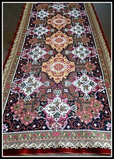 Gallery.ru / Фото #8 - 9 - kento Cross Stitch Designs, Cross Stitch Patterns, Little People, Cross Stitching, Rugs On Carpet, Needlepoint, Bohemian Rug, Diy And Crafts, Embroidery