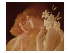 Two Angels Giclee-vedos