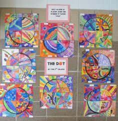 I like this idea! Never thought to do the dot with upper elementary