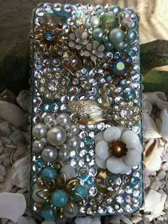 I want an iphone just so i can buy this case!!! Custom unique one of a kind iPhone 4/4s cover by Kianaskases, $70.00