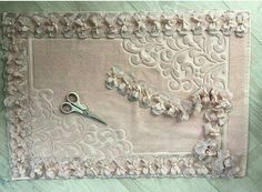 Couture, Embroidery, Sewing, Blog, Diy, Home Decor, Bathroom Mat, Embroidered Towels, Layette