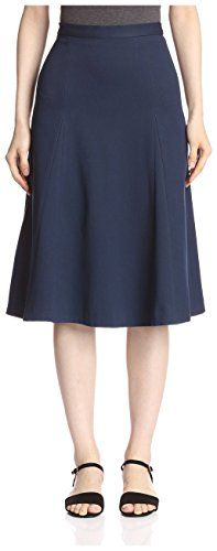 byTiMo Womens A Line Midi Skirt Navy L ** Learn more by visiting the image link.