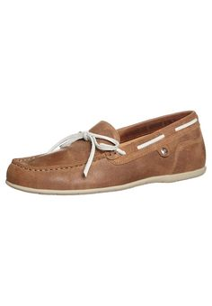 Panama Jack PANISI Boat shoes velours grass miel