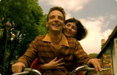 """So, little Amélie, your bones aren't made of glass.  You can take life's knocks.  If you let this chance go by, eventually your heart will become as dry and brittle as my skeleton. So, go and get him, for pete's sake!"" - Amelie (Jean-Pierre Jeunet, France, 2001)"