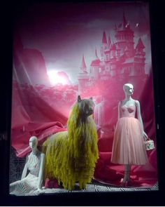 "BERGDORF GOODMAN, Fifth Avenue, Midtown Manhattan, New York City, USA, ""Curtain Call"", photo by Celina Leung, pinned by Ton van der Veer Display Window, Curtain Call, Store Windows, Shop Fronts, Merchandising Displays, Display Design, Bergdorf Goodman, Window Shopping, Alters"