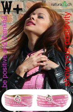 We Positive Armbänder - ein »Must-Have« Accessoire aus Italien. Positives Denken, das Leben leichter zu nehmen, Glück, Liebe, Freundschaft und Gesundheit - dies ist die Lebensphilosophie, die viel Spass macht. We Positive bracelets is a high quality product that promotes optimism and motivation. #creativa1001 #creativa #positive #wrapbracelet #madeinitaly #bepositive #wickelarmband #positivity #lifeisbeautiful #bracelets #italianfashion #freundschaftsarmband #armband #wepositive #streetstyle Trends, High, Fashion Accessories, Positivity, Motivation, Accessories, Italy, Armband, Love
