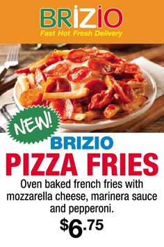 Brizio's Pizza is a famous name in the market for fast home delivery in Lake Forest, CA that provide fresh toppings, sauce and daily-made fresh dough in their pizzas. We also provide catering services. Fries Oven, Fries In The Oven, Pizza Home Delivery, Online Pizza, Oven Baked French Fries, Fresh Delivery, Pizza House, Pizza Restaurant, Good Pizza