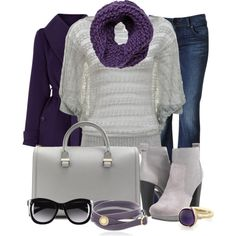 """""""Purple and Gray Contest #1"""" by lifebeautiful on Polyvore"""